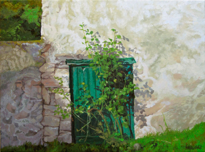 Gallery ireland paintings and prints by barrie maguire for Abstract salon barrie