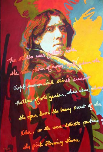 Paintings and prints of ireland for Art and decoration oscar wilde